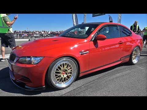 BMW M3 E92 G-Power – Great Exhaust Sounds!
