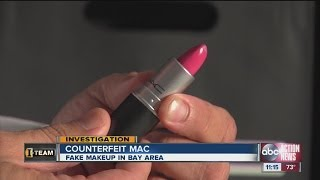 Counterfeit MAC makeup prevalent in Bay area