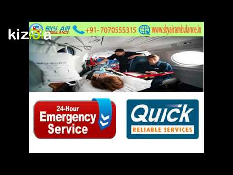 ICU Facilities with Sky Air Ambulance services in Kolkata at minimum price