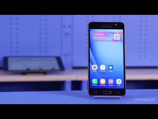 Belsimpel.nl-productvideo voor de Samsung Galaxy J5 (2016)