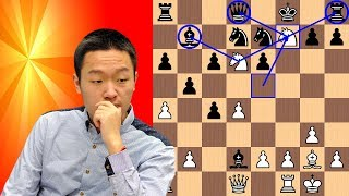 Wei Yi pounces on Grandmaster's move 10 blunder
