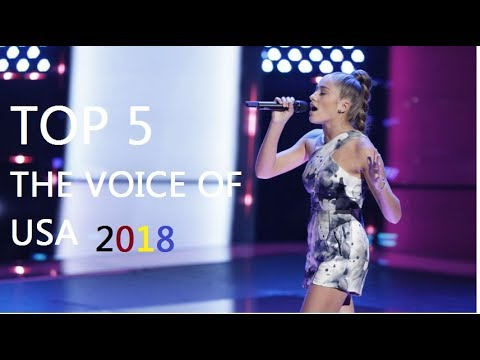 Top 5 best auditions The voice USA 2018