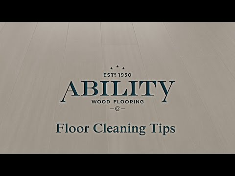 Hardsurface Floor Cleaning Tips