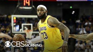 LeBron James breaks his silence on NBA-China dispute