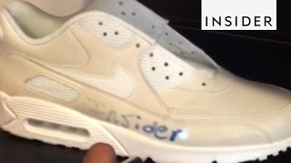 Draw on These Color-Changing Shoes With a Laser