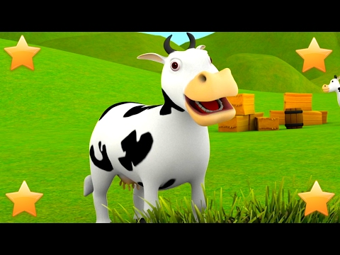 The Farmer in the Dell | Kindergarten Nursery Rhymes & Songs for Kids
