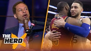 Chris Broussard on the chances Ben Simmons comes to LA, Magic signing LeBron   NBA   THE HERD