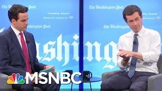 Pete Buttigieg Calls Out President Donald Trump On Avoiding Vietnam Draft | Deadline | MSNBC