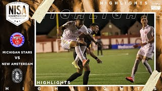 Michigan Stars 2 - 2 New Amsterdam - HIGHLIGHTS & GOALS - 9/24/2020