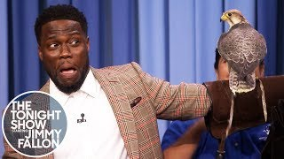 Kevin Hart Is Terrified of Robert Irwin's Animals - YouTube