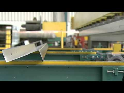 Hayes International Bradbury Group Magnetic Purlin Stacker