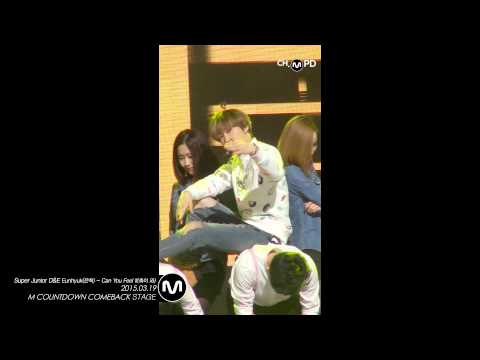 [MPD직캠] 슈퍼주니어 은혁 직캠 촉이 와 Can You Feel It? Super Junior D&E Eun hyuk Fancam Mnet MCOUNTDOWN 150319