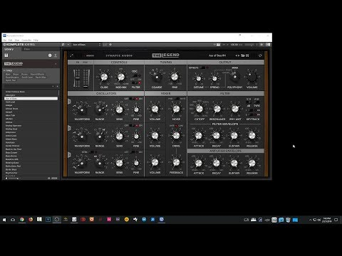SoundsAndGear Live - Checking Out The Legend Minimoog Plugin from Synapse Audio