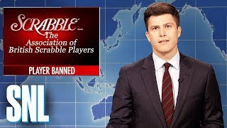 Weekend Update on a Cheating Scrabble Player - SNL