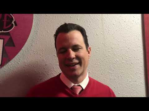 Paul Weir after UNM's loss at UNLV (01.18.20)