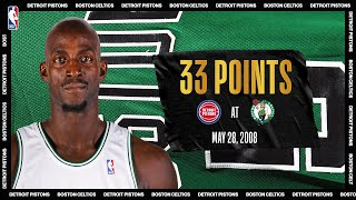 Garnett Goes Off For 33 PTS In 2008 ECF Game 5 | #NBATogetherLive Classic Game