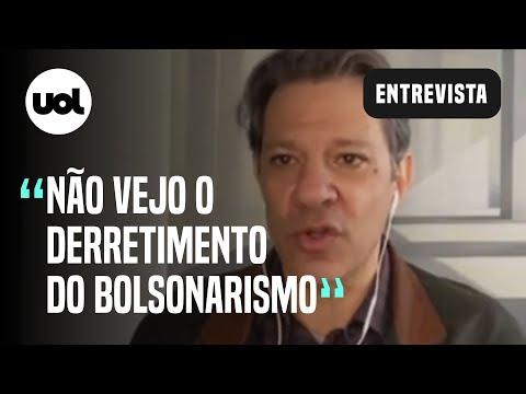 Haddad: 'Torço por 2º turno sem Bolsonaro, mas como cientista político não acredito que aconteça'