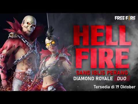 Novo Diamante Royale Duplo de Halloween - Esqueleto Maligno
