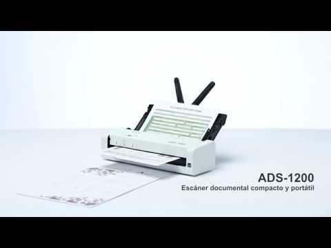 Tour de producto ADS-1200. Escáner departamental compacto