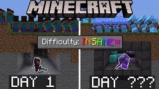 I Let 100 Players Hunt Me For 100 Days In Minecraft... It Did Not Go Well