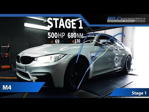 BMW M4 3.0 Bi-Turbo Stage 1 By BR-Performance