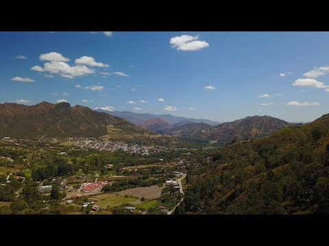 Views of our little valley in the Andes of Ecuador - a Silent Vlog (DJI Mavic Pro)