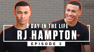 RJ Hampton's Dream Has ALWAYS BEEN to go to the NBA 🏆 Ep. 2 | SLAM Day in the Life