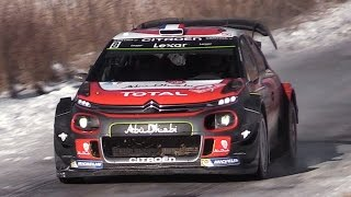Citroën C3 WRC 2017 Sound – Lefebvre  Meeke In Action at Rallye Monte Carlo 2017