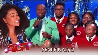 Detroit Youth Choir: Judges In TEARS After a Knockout Performance!   America's Got Talent 2019
