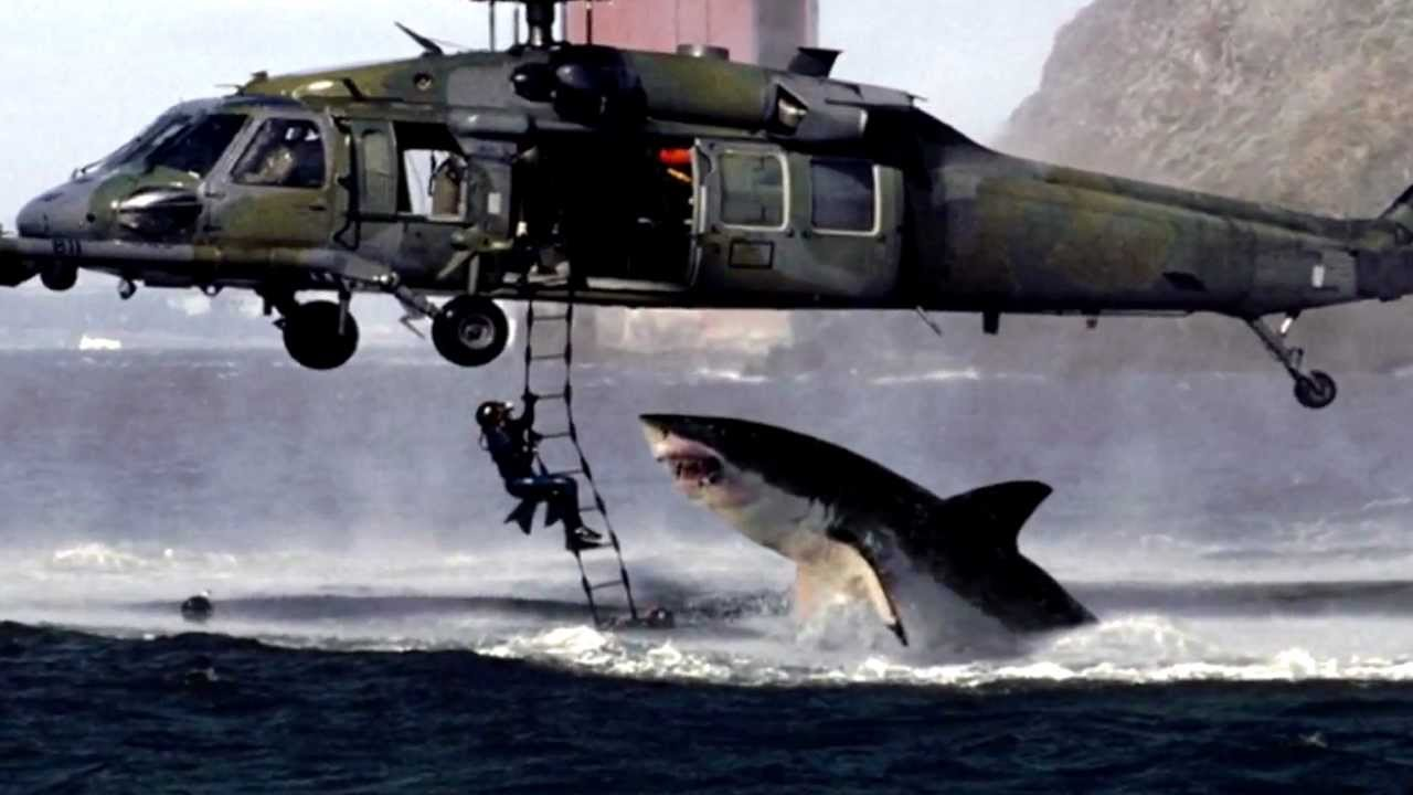 Photo Hoax 2 Shark Attacks Helicopter Youtube