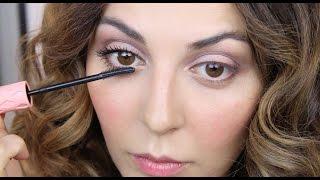 Natural Makeup Tutorial + Review of the Roller Lash Mascara
