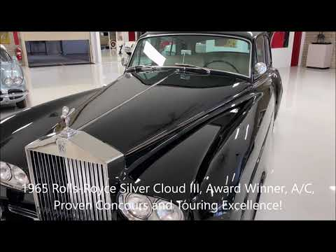 video 1965 Rolls-Royce Silver Cloud III