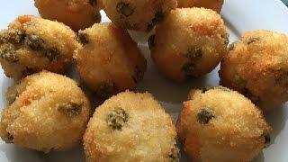 Deep-Fried Rice Balls - Episode 265 - Baking with Eda
