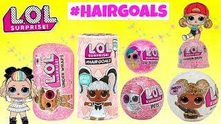 LOL Surprise Dolls Unboxing Hairgoals Eye Spy Under Wraps Glitter LOL Surprise Fashion Crush