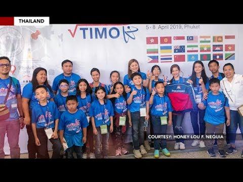 Delegado ng Pilipinas sa Thailand International Mathematical Olympiad 2019, humakot ng medalya