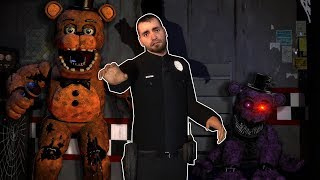 Working Overtime at the Five Nights At Freddy's Pizzeria in Garry's Mod! - FNAF Gmod Survival