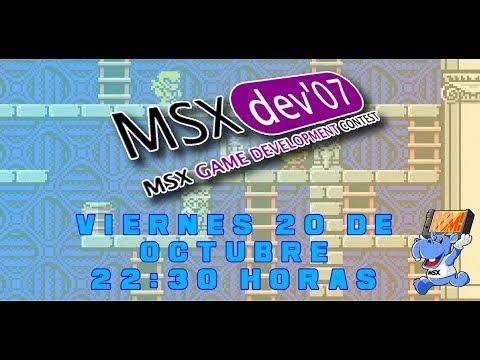 Los videojuegos de MSXdev'07 - MSX homebrew
