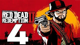 """Taking The Train"" Vegeta Plays Red Dead Redemption - Part 4"