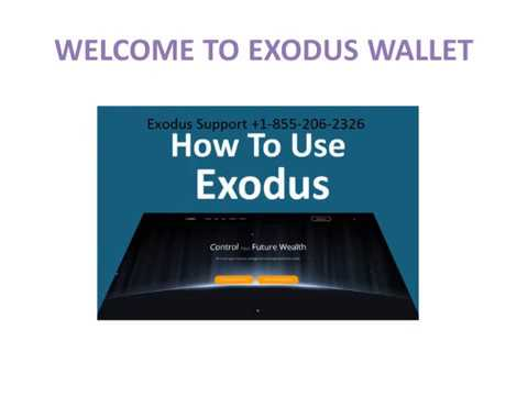 how to get exodus wallet support