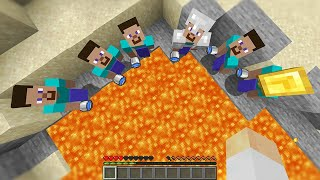 Minecraft Manhunt but if you die the Hunters LOSE...