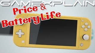 Nintendo Switch Lite - Price and Battery Life Detailed!