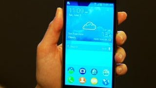 Stylish Samsung Z is Tizen's first phone