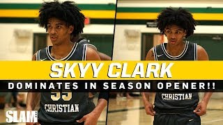 Skyy Clark DROPS 30 in a 59 POINT BLOWOUT WIN! FULL GAME HIGHLIGHTS