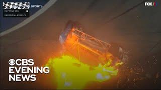 Ryan Newman survives horrifying crash at Daytona 500