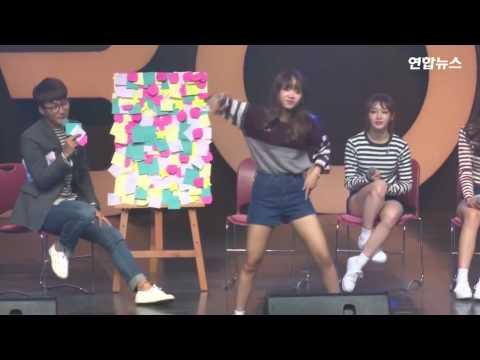 I.O.I Yoojung Dancing Boy Group Dances [BTS, EXO, Big Bang...]