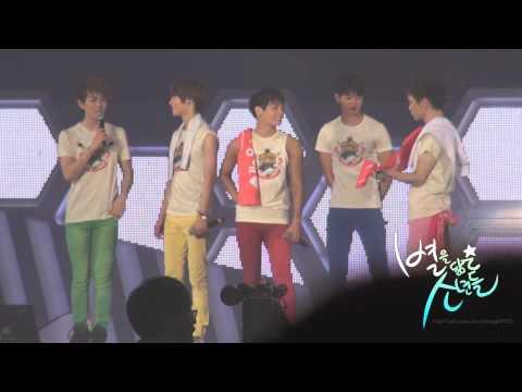 120722 SHINee World Concert 2 in Seoul 토크