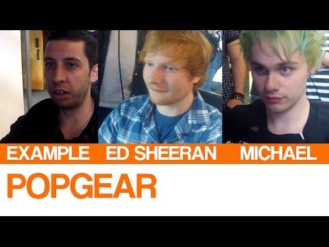 Baixar PopGear | Example, Ed Sheeran and Michael from 5SOS