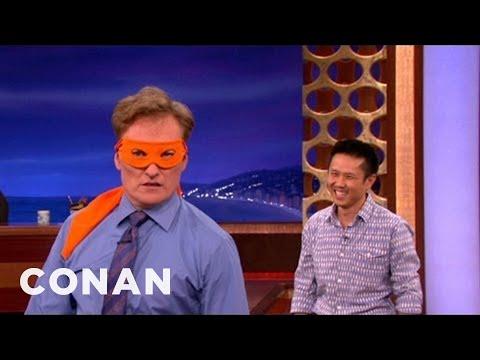 Steven Ho Helps Conan Channel His Inner Ninja Turtle