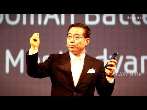Samsung Mobile Unpacked 2011 Episode II at IFA