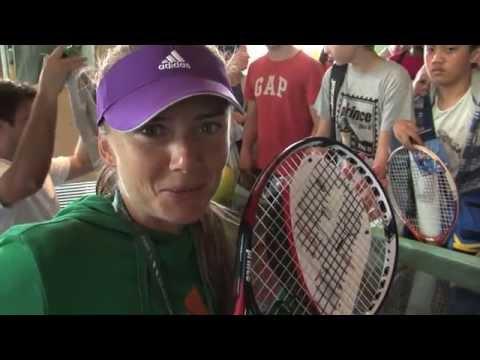 Daniela Hantuchova Racquet Giveaway